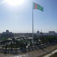 M2l-Monumental Flagpole™ in Mary, Turkmenistan