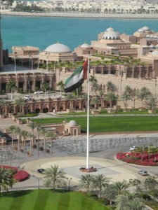 Stately Flagpole™ at Emirates Palace Hotel