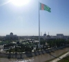 Monumental Flagpole™ in Mary, Turkmenistan