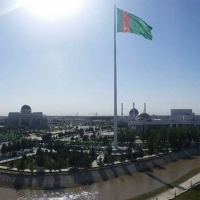 M2l-Monumental Flagpole™ in Mary, Turkmenistan