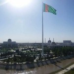 100m Monumental Flagpole™ in Mary, Turkmenistan